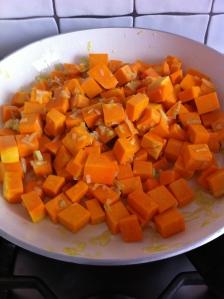 mini quiche zucca e pancetta